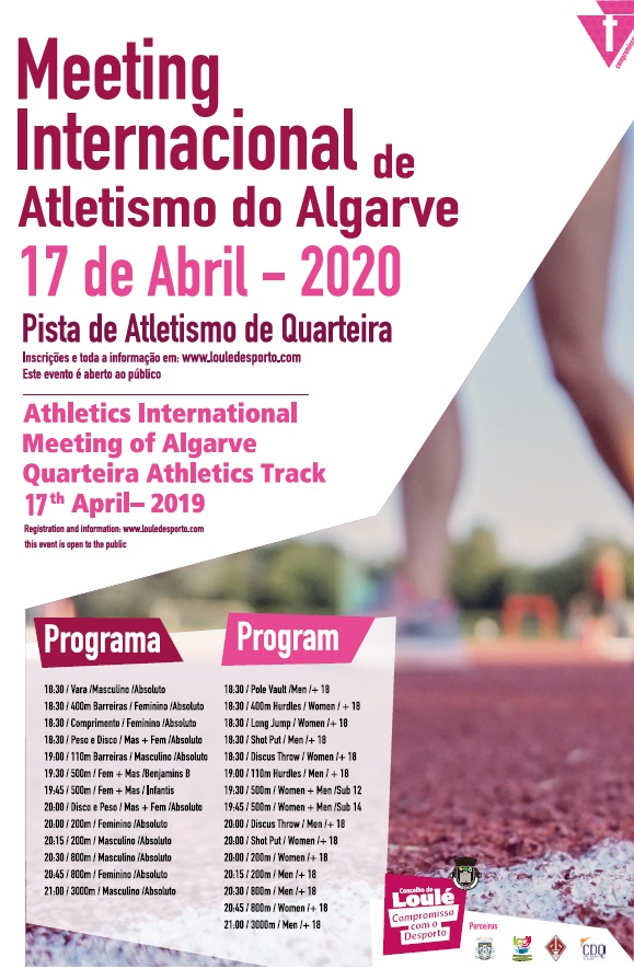 Meeting Internacional de Atletismo do Algarve -  Filiados AAALG